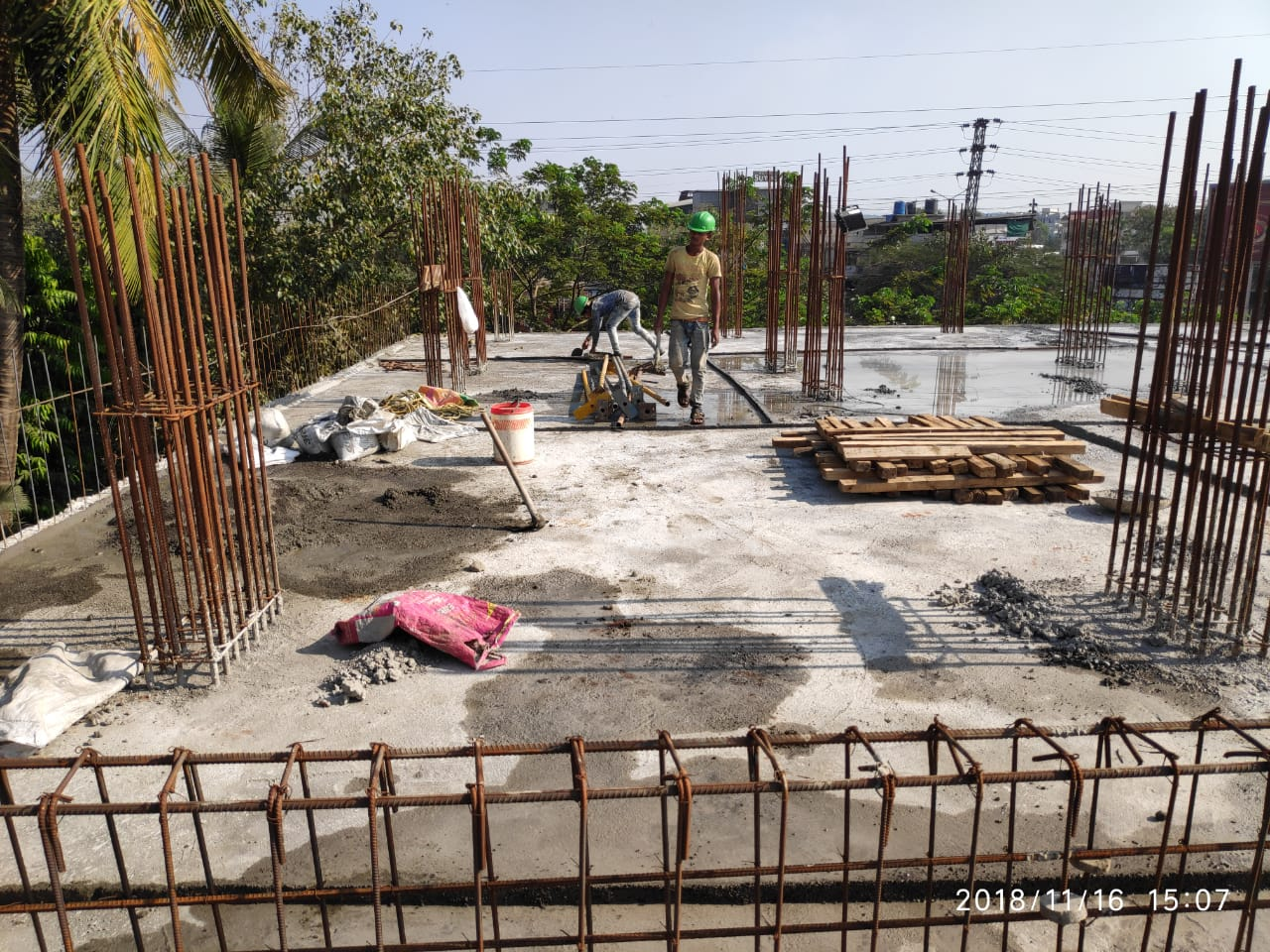 GNP Group Galleria Construction site