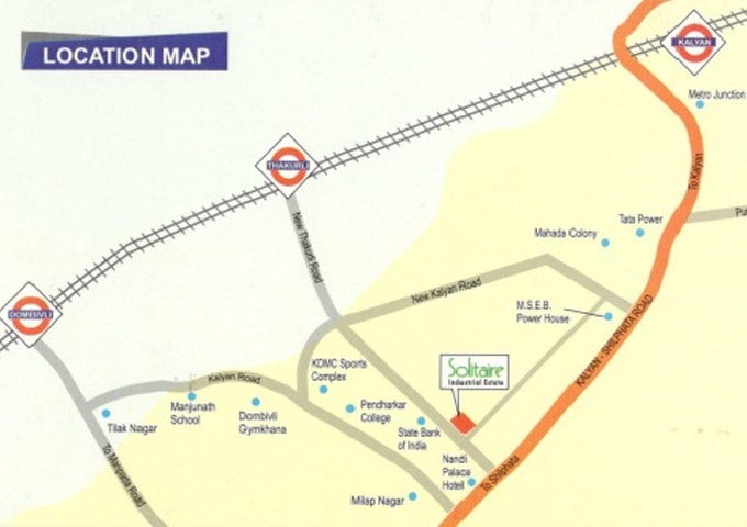 GNP Group Solitaire Industrial Estate location map